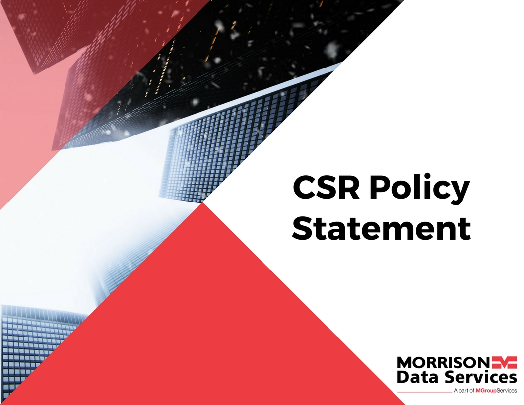 MDS CSR Policy Statement