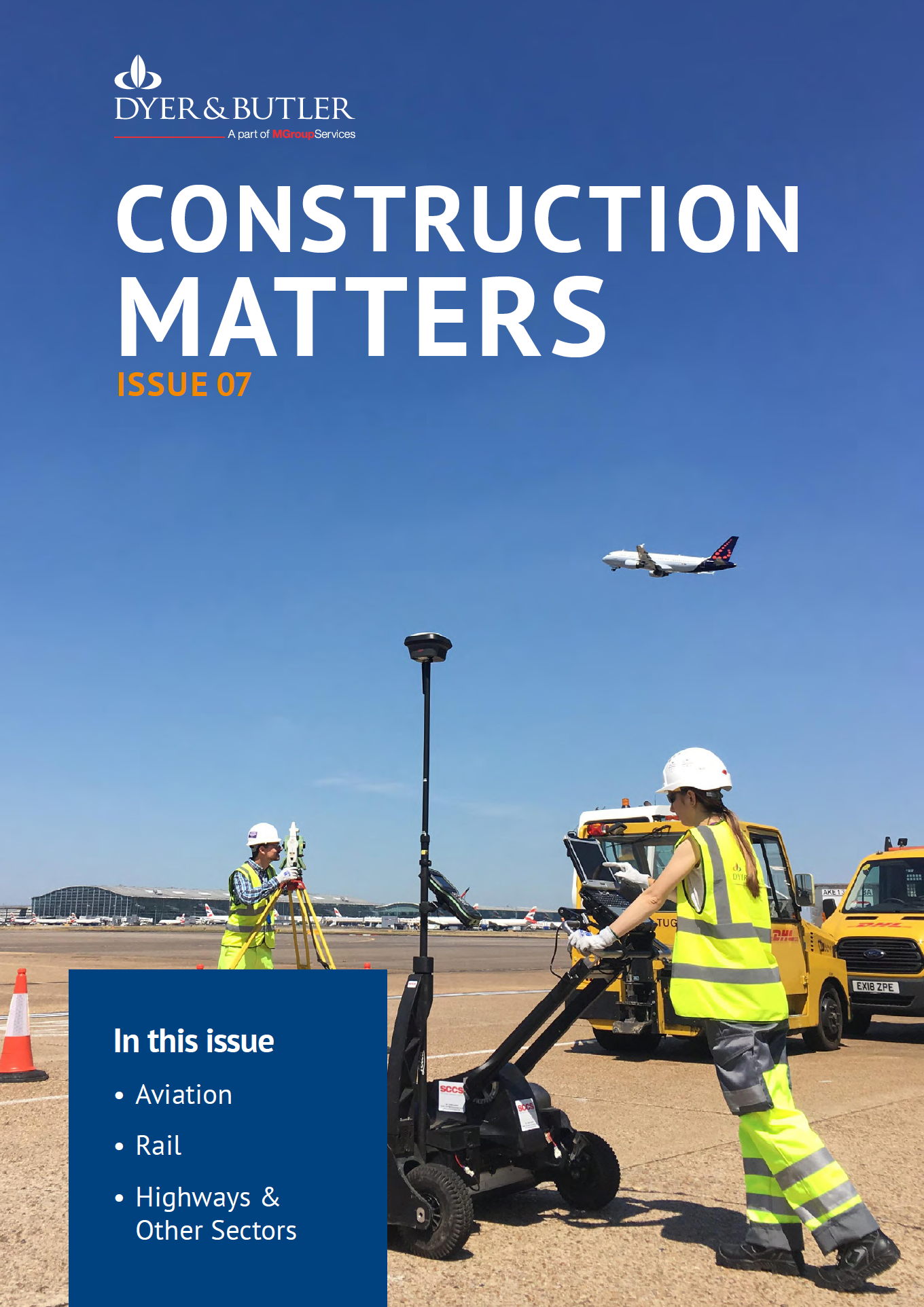 Construction Matters Issue 07 Front Page