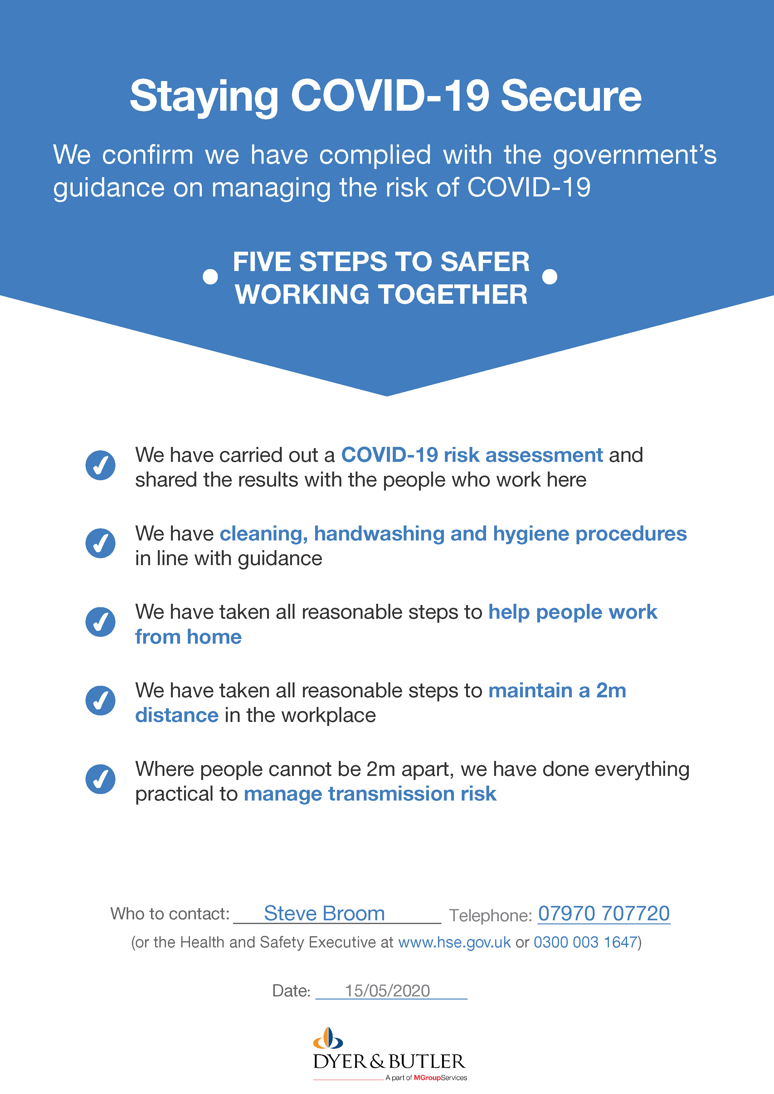 Covid 19 Risk Assessment Statement If you have an immigration related problem or question, you can have a free assessment with a member of our assessments team. covid 19 risk assessment statement