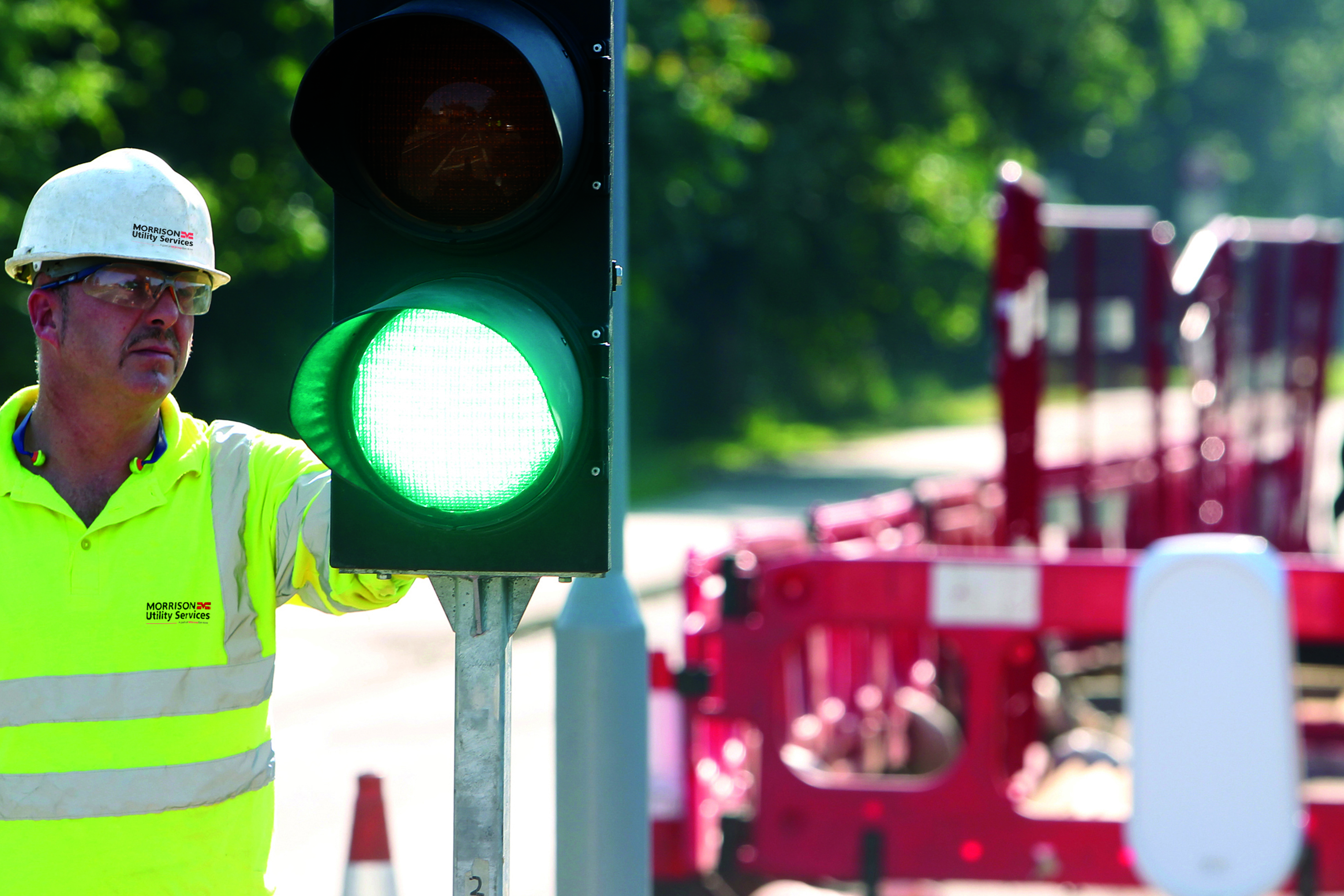 Morrison Utility Services Traffic Lights